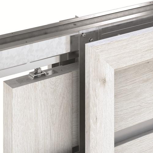 Zalamovací a posuvné dveře Zárubeň PORTA KOMPAKT - Symetrická - Jednokřídlé model Pouzdro
