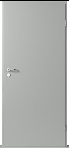 Technické dveře Metal SOLID model Plné
