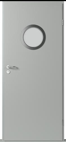 Technické dveře Metal SOLID model Vzor 4