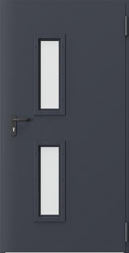 Technické dveře Kovové EI 60 model Vzor 1