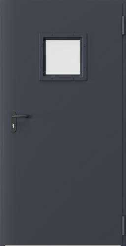 Technické dveře Kovové EI 60 model Vzor 2