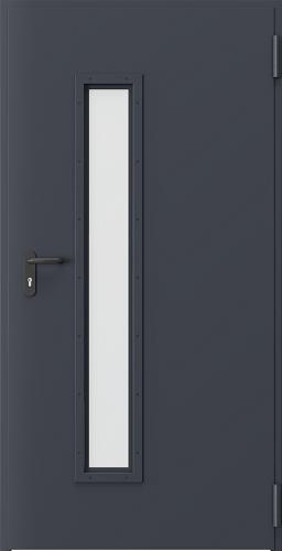 Technické dveře Kovové EI 60 model Vzor 3