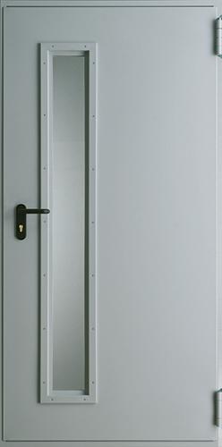 Technické dveře Kovové EI 30 model Vzor 3