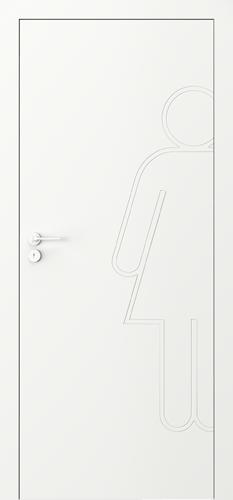 Interiérové dveře Porta VECTOR Premium model Vzor L