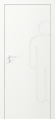 Interiérové dveře Porta VECTOR Premium model Vzor M