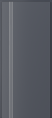 Technické dveře Akustické 27 dB model 27 dB, intarzie 3