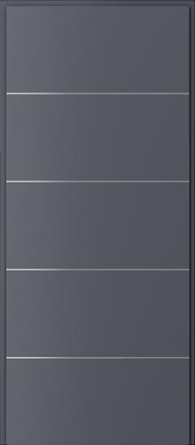 Technické dveře Akustické 27 dB model 27 dB, intarzie 6