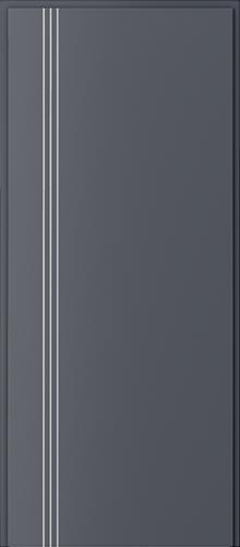 Technické dveře Protipožární dveře EI 60 model Ei 60, intarzie 3