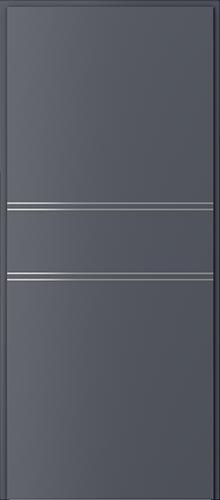 Technické dveře Protipožární dveře EI 60 model Ei 60, intarzie 4