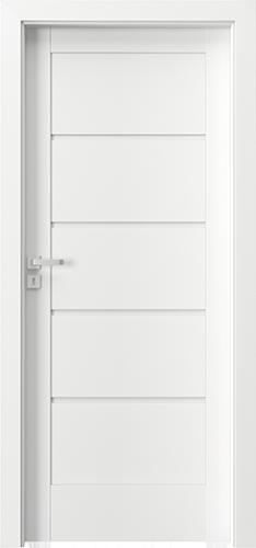 Interiérové dveře Verte HOME, skupina G model Vzor G0
