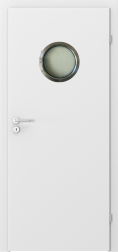 Interiérové dveře Porta DECOR model Kulaté prosklení