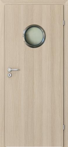 Interiérové dveře Porta CPL model Kulaté prosklení