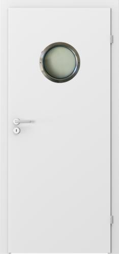 Interiérové dveře MINIMAX model Kulaté prosklení
