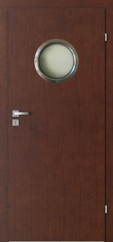 Interiérové dveře Natura CLASSIC model Kulaté prosklení