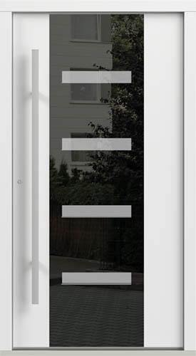 Vchodové dveře do domu Eco POLAR PASSIVE model Vzor C.4