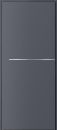 Technické dveře Akustické 27 dB model 27 dB, intarzie 7