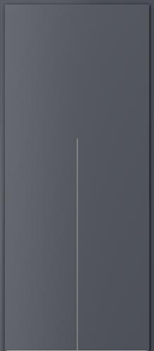 Technické dveře Protipožární dveře EI 60 model Ei 60, intarzie 9