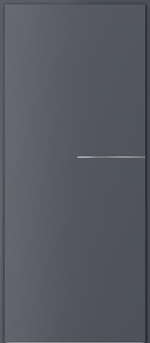 Technické dveře Protipožární dveře EI 60 model Ei 60, intarzie 8