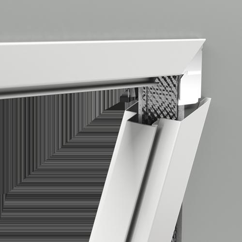 Zárubně a světlíky Kovová FAST model Komplet svislých nosníků
