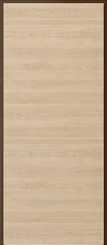 Vchodové dveře do bytu KWARC – třída RC 2 model KWARC, ploché (vodorovná struktura dřeva Gladstone)