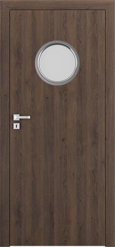 Interiérové dveře Porta RESIST model 1.K kulaté okénko