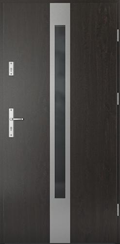 Vchodové dveře do domu Ocelové SAFE model Vzor C1