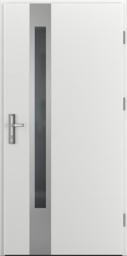 Vchodové dveře do domu Ocelové ENERGY PROTECT model Vzor D1