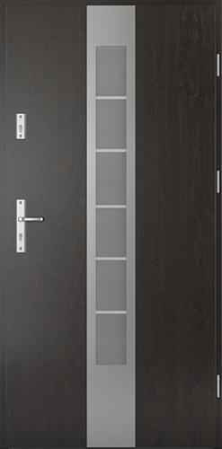 Vchodové dveře do domu Ocelové SAFE model Vzor E1