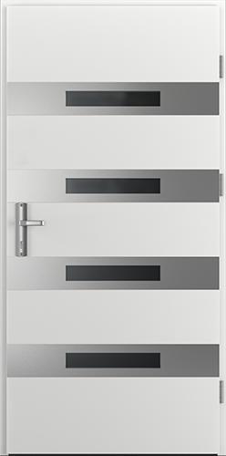 Vchodové dveře do domu Ocelové ENERGY PROTECT model Vzor F1