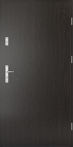 Vchodové dveře do domu Ocelové SAFE model Vzor A0 třída RC2 (ploché bez kukátka)