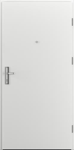 Vchodové dveře do domu Ocelové ENERGY PROTECT model Vzor A1 třída RC3 (A0+kukátko)