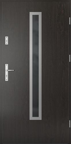 Vchodové dveře do domu Ocelové SAFE model Vzor B1