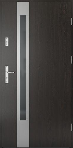 Vchodové dveře do domu Ocelové SAFE model Vzor D1
