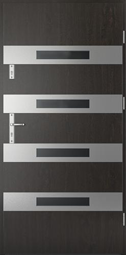 Vchodové dveře do domu Ocelové SAFE model Vzor F1