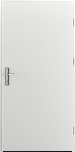 Vchodové dveře do domu Ocelové ENERGY PROTECT model Vzor A0 třída RC3 (ploché bez kukátka)