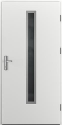 Vchodové dveře do domu Ocelové ENERGY PROTECT model Vzor B1