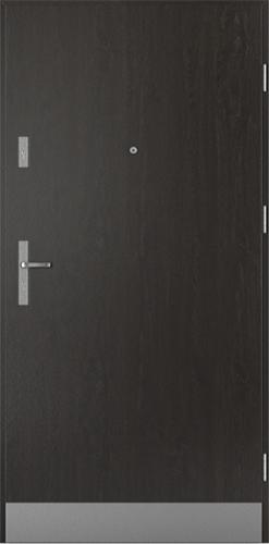Vchodové dveře do domu Ocelové SAFE model Vzor A2 třída RC2 (A1+oboustranný panel)