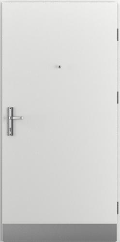 Vchodové dveře do domu Ocelové ENERGY PROTECT model Vzor A2 třída RC3 (A1+oboustranný panel)