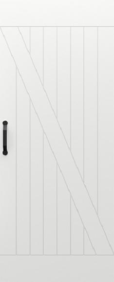 Zalamovací a posuvné dveře Posuvný systém PORTA BLACK model Vzor 1