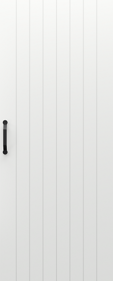 Zalamovací a posuvné dveře Posuvný systém PORTA BLACK model Vzor 4
