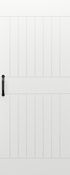Zalamovací a posuvné dveře Posuvný systém PORTA BLACK model Vzor 2