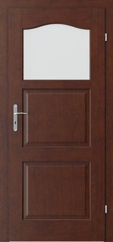 Interiérové dveře MADRID model 1/3 sklo