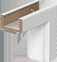 Zárubně a světlíky Porta SYSTEM, Porta SYSTEM GK - Jednokřídlé model Porta SYSTEM GK, typ A (75-95mm)