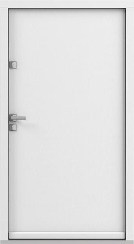 Vchodové dveře do domu Eco POLAR PASSIVE model Plné
