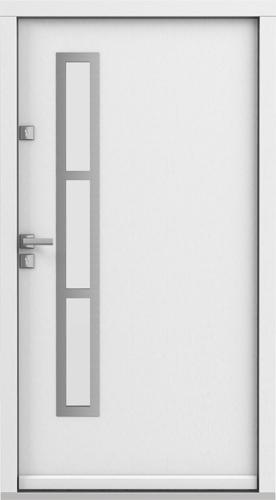 Vchodové dveře do domu Eco POLAR PASSIVE model Vzor 1