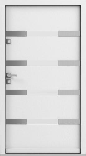 Vchodové dveře do domu Eco POLAR PASSIVE model Vzor 4